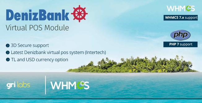 Denizbank Virtual POS Payment Gateway Module