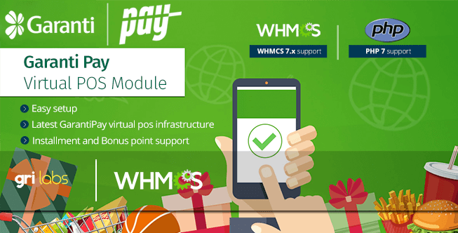 GarantiPay Virtual POS Payment Gateway Module
