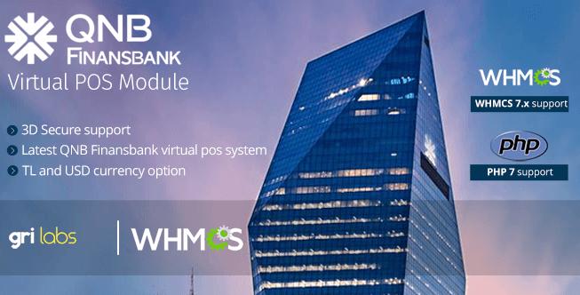 QNB Finansbank Virtual POS Payment Gateway Module