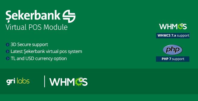SekerbankVirtual POS Payment Gateway Module