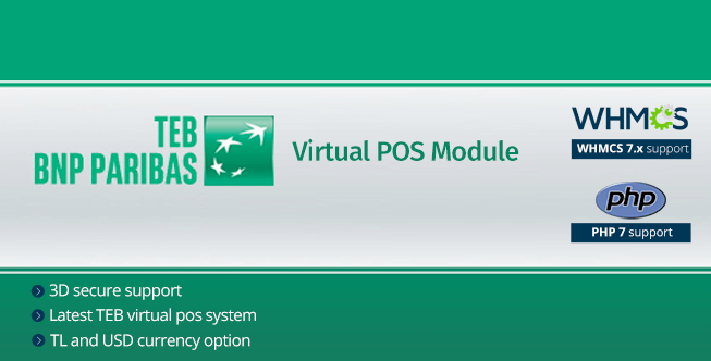 TEB Virtual POS Payment Gateway Module